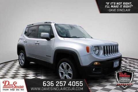 2018 Jeep Renegade for sale at Dave Sinclair Chrysler Dodge Jeep Ram in Pacific MO