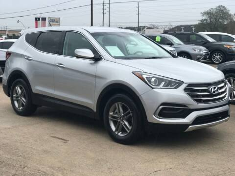 2018 Hyundai Santa Fe Sport for sale at Discount Auto Company in Houston TX