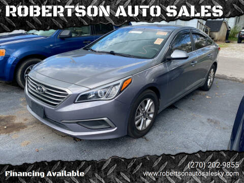 2016 Hyundai Sonata for sale at ROBERTSON AUTO SALES in Bowling Green KY