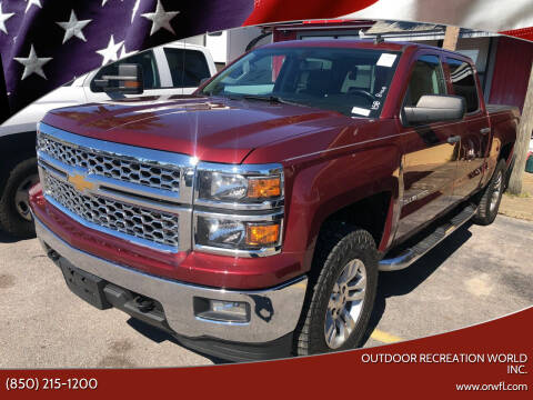 2014 Chevrolet Silverado 1500 for sale at Outdoor Recreation World Inc. in Panama City FL