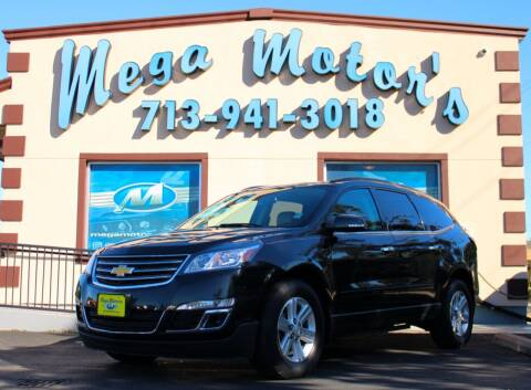 2013 Chevrolet Traverse for sale at MEGA MOTORS in South Houston TX