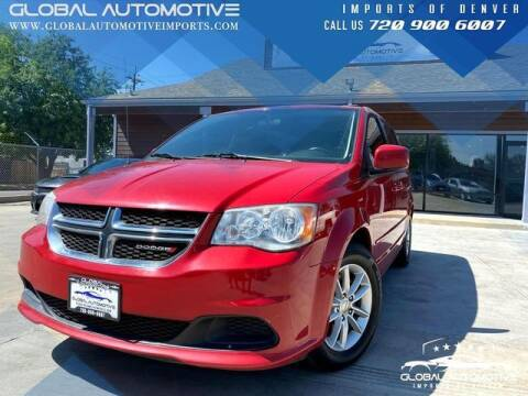 2014 Dodge Grand Caravan for sale at Global Automotive Imports of Denver in Denver CO