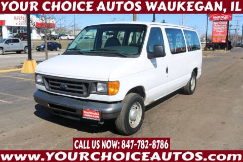 2006 Ford E-Series Wagon for sale at Your Choice Autos - Waukegan in Waukegan IL