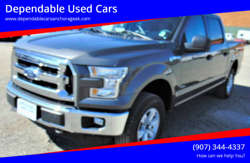 2016 Ford F-150 for sale at Dependable Used Cars in Anchorage AK