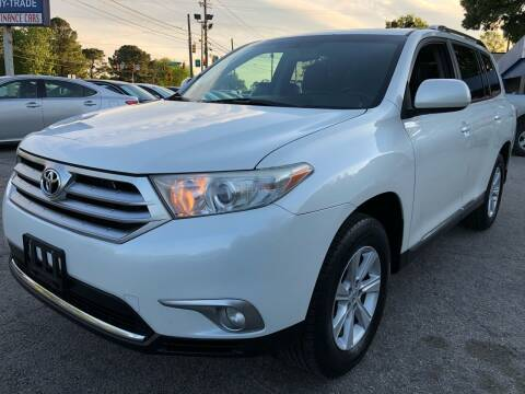 2012 Toyota Highlander for sale at Capital Motors in Raleigh NC