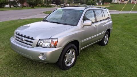 2006 Toyota Highlander for sale at Kidron Kars INC in Orrville OH