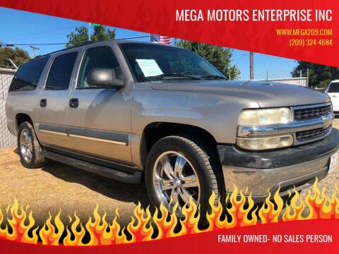 2002 Chevrolet Suburban for sale at MEGA MOTORS ENTERPRISE INC in Modesto CA