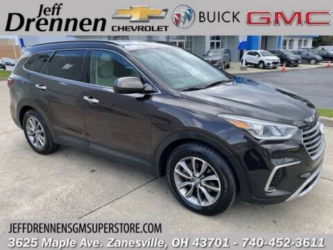 2017 Hyundai Santa Fe for sale at Jeff Drennen GM Superstore in Zanesville OH