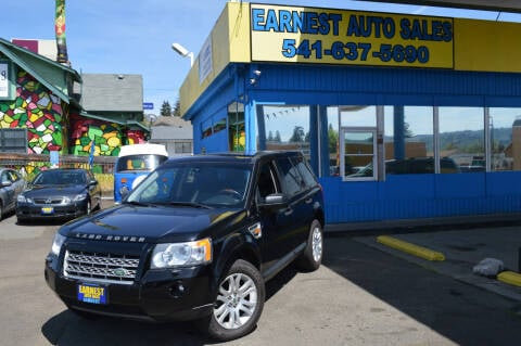 2008 Land Rover LR2 for sale at Earnest Auto Sales in Roseburg OR