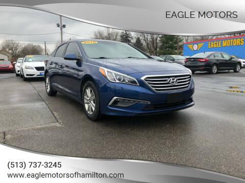 2015 Hyundai Sonata for sale at Eagle Motors in Hamilton OH
