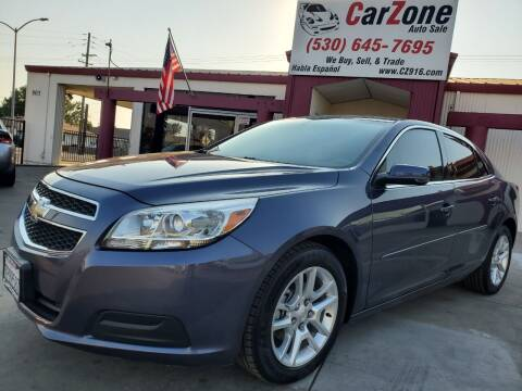 2013 Chevrolet Malibu for sale at CarZone in Marysville CA