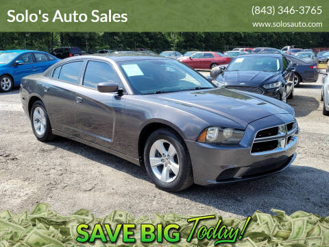2014 Dodge Charger for sale at Solo's Auto Sales in Timmonsville SC
