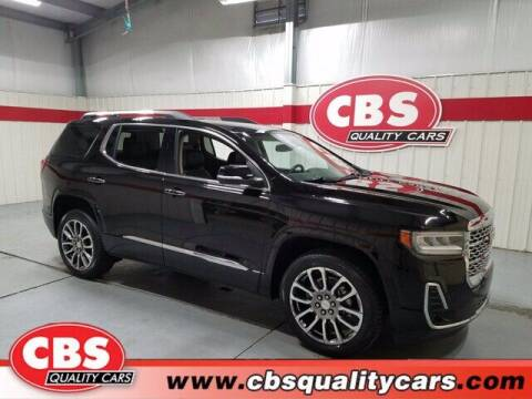 2020 GMC Acadia for sale at CBS Quality Cars in Durham NC