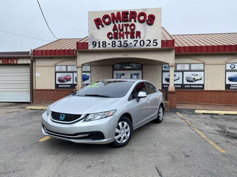 2013 Honda Civic for sale at Romeros Auto Center in Tulsa OK
