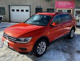 2018 Volkswagen Tiguan for sale at Past & Present MotorCar in Waterbury Center	 VT
