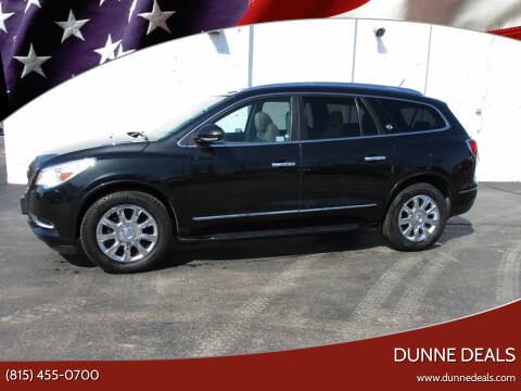 2014 Buick Enclave for sale at Dunne Deals in Crystal Lake IL