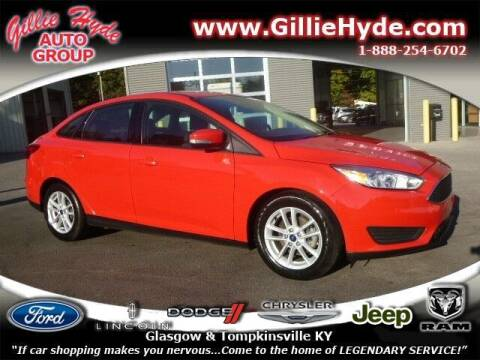 2017 Ford Focus for sale at Gillie Hyde Auto Group in Glasgow KY