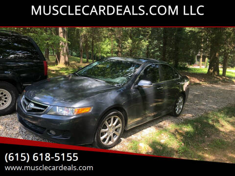 2007 Acura TSX for sale at MUSCLECARDEALS.COM LLC in White Bluff TN