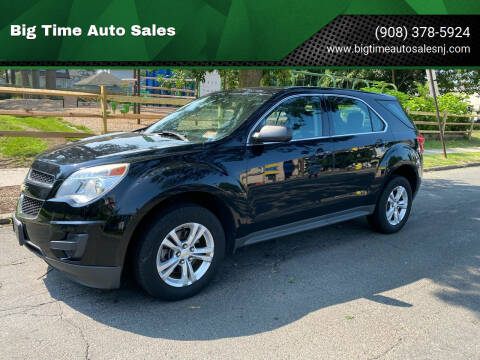2013 Chevrolet Equinox for sale at Big Time Auto Sales in Vauxhall NJ