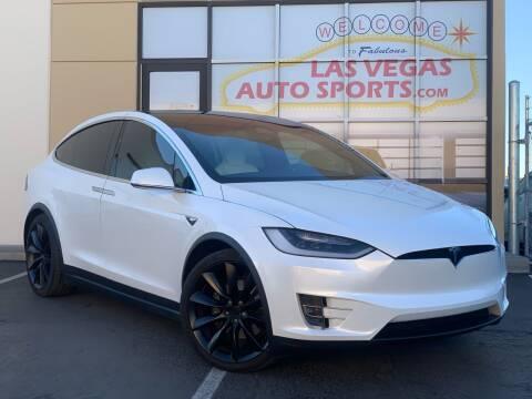 2017 Tesla Model X for sale at Las Vegas Auto Sports in Las Vegas NV