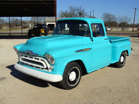 1957 Chevrolet 3100 for sale at Texas Truck Deals in Corsicana TX
