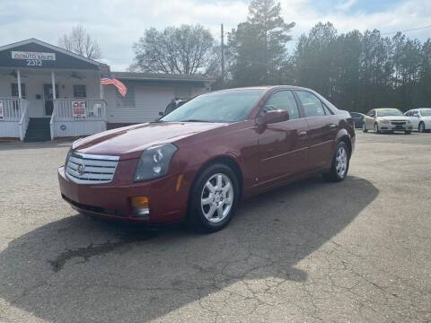 2007 Cadillac CTS for sale at CVC AUTO SALES in Durham NC