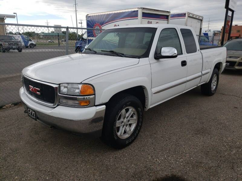 2000 GMC Sierra 1500 for sale at CFN Auto Sales in West Fargo ND