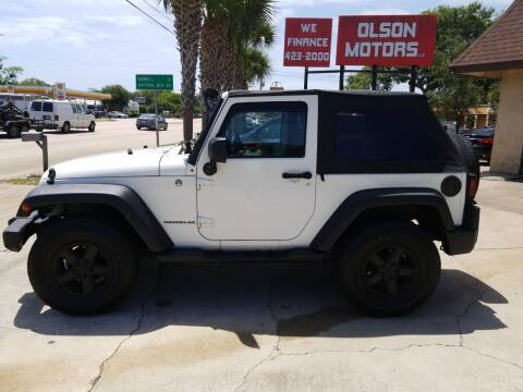 2007 Jeep Wrangler for sale at Olson Motors LLC in Saint Augustine FL