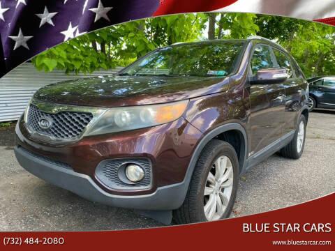 2011 Kia Sorento for sale at Blue Star Cars in Jamesburg NJ