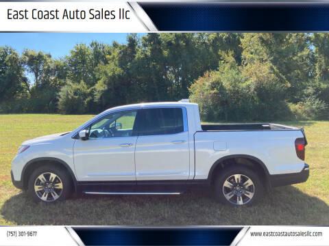2018 Honda Ridgeline for sale at East Coast Auto Sales llc in Virginia Beach VA