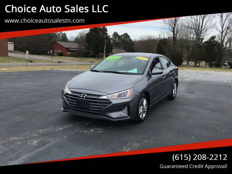 2020 Hyundai Elantra for sale at Choice Auto Sales LLC - Cash Inventory in White House TN