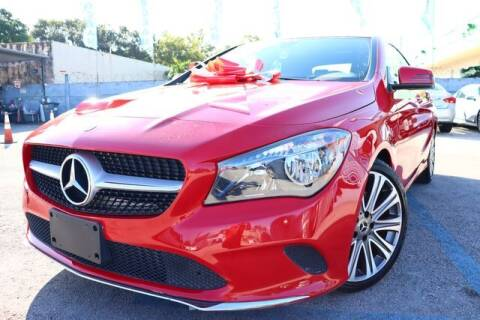 2018 Mercedes-Benz CLA for sale at OCEAN AUTO SALES in Miami FL