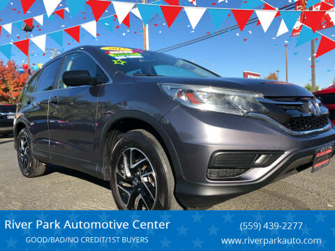 2016 Honda CR-V for sale at River Park Automotive Center in Fresno CA