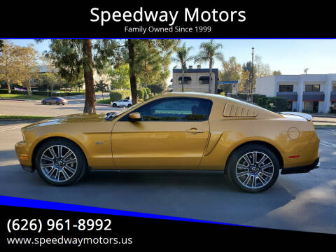 2010 Ford Mustang for sale at Speedway Motors in Glendora CA