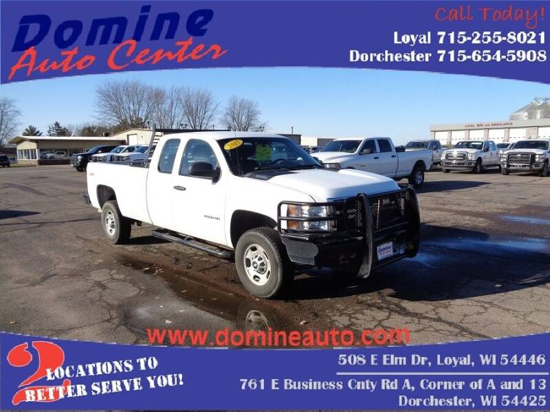 2013 Chevrolet Silverado 2500HD for sale at Domine Auto Center - commercial vehicles in Loyal WI