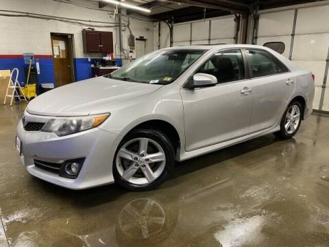 2014 Toyota Camry for sale at Sonias Auto Sales in Worcester MA