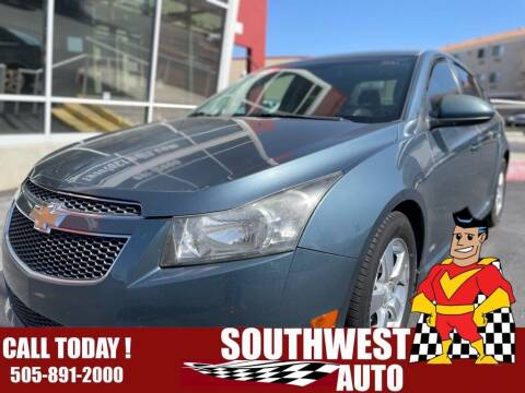 2012 Chevrolet Cruze for sale at SOUTHWEST AUTO in Albuquerque NM