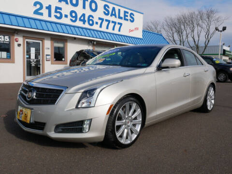 2013 Cadillac ATS for sale at B & D Auto Sales Inc. in Fairless Hills PA