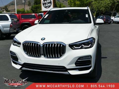 2020 BMW X5 for sale at McCarthy Wholesale in San Luis Obispo CA