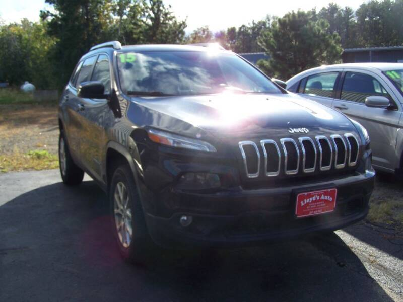 2015 Jeep Cherokee for sale at Lloyds Auto Sales & SVC in Sanford ME