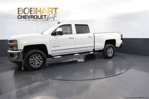 2018 Chevrolet Silverado 2500HD for sale at BOB HART CHEVROLET in Vinita OK