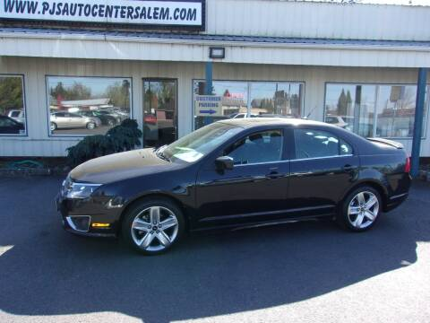 2010 Ford Fusion for sale at PJ's Auto Center in Salem OR