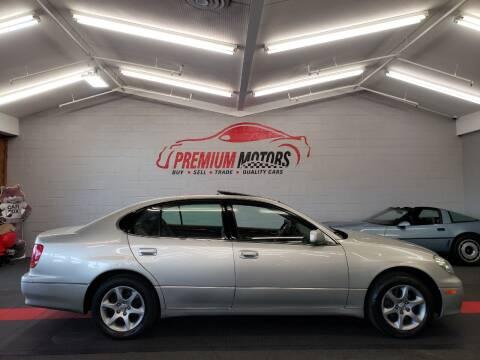 2005 Lexus GS 300 for sale at Premium Motors in Villa Park IL