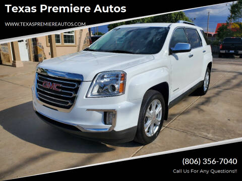 2016 GMC Terrain for sale at Texas Premiere Autos in Amarillo TX