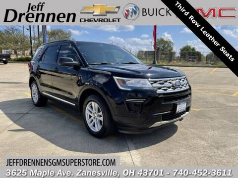 2018 Ford Explorer for sale at Jeff Drennen GM Superstore in Zanesville OH