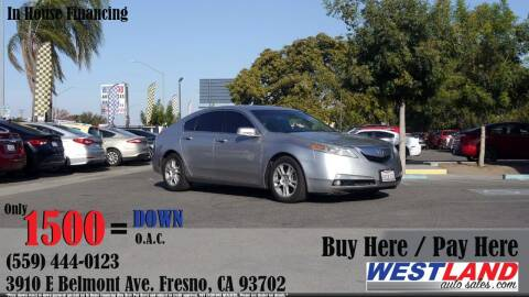 2011 Acura TL for sale at Westland Auto Sales in Fresno CA