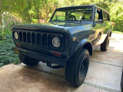 1976 International Scout II for sale at Classic Car Deals in Cadillac MI