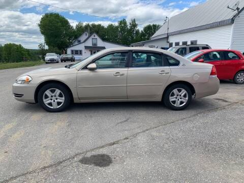2008 Chevrolet Impala for sale at Ron's Auto Sales in Washington ME