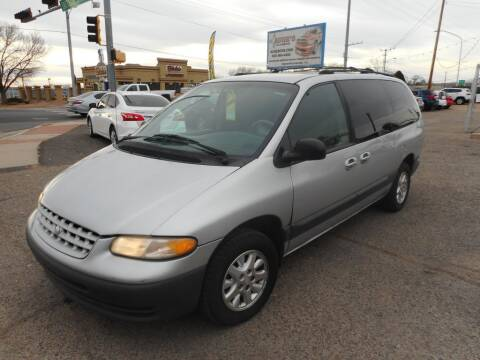 2000 Plymouth Grand Voyager for sale at AUGE'S SALES AND SERVICE in Belen NM
