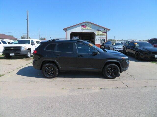 2015 Jeep Cherokee for sale at Jefferson St Motors in Waterloo IA